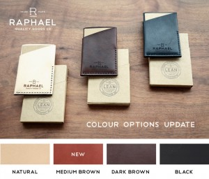 Raphael LEAN Wallet - Colors
