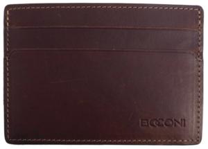 Boconi RFID ID Card Case Back